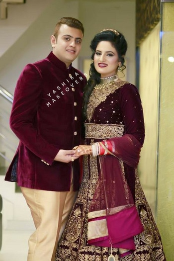 #HAPPY GROOM, HAPPY BRIDE☺️☺️BOOKINGS are open for October, November, December 2017 <3 For Any Query , #Whatsapp / Call us on 9717524960 #Between 10 A.M & 8 P.M | Landline No : 01145131715 / 01145131717 || To Know More Visit : www.YashikaMakeovers.Com