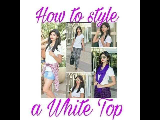 💟 Video Alert 💟  Hey guys my Video ❤ How to style a White Top ❤ is up on the channel. Don't forget to watch and subscribe to my channel 💕 glitandglaze💟  #soroposo #roposolove #howtostyle #whitetop #summer-style #summerfashion #youtuber #youtubeindia #roposoblogger #fashionblogger #gurugram