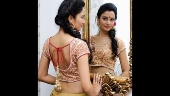 Hot trending Designer Blouse designs in trends for Women #blouses