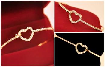 Hollow Full of Love Cute Delicate Bracelet MRP : Rs. 299/- Product Code:B2137 http://www.bouteeko.com/productdetail/hollow-full-of-love-cute-delicate-bracelet