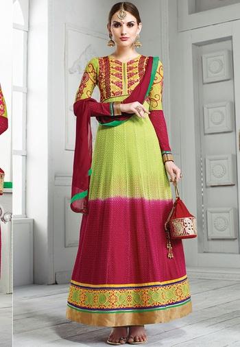 Green & Pink Color Georgette Designer Salwar Kameez. Buy Now at https://goo.gl/prn97N  https://www.folkfashions.com/salwar-kameez-dress-material/party-wear-salwar-kameez-online.html  #followforfollow #outfit #styling #model #streetstyle #cool #beauty #roposo #indian #followme #roposolove #styles #fashion #blogger #trendy #indianblogger #summer #love #Green #greendress #pink #pinkdress #georgette #georgette-summer-collection #georgettesuit #georgette_salwar_kameez #designer #salwar #salwarkameez #salwarsuit #salwar-kameez #salwarkameezsale #salwarsuitonline #salwarkameezonlineshopping #buyonline #buyapparel #buynow #shop #shoppingonline #partyoutfit #partywearonline #partywearanarkalis #partywearsuits #partywearshopping #pinksalwarkameez