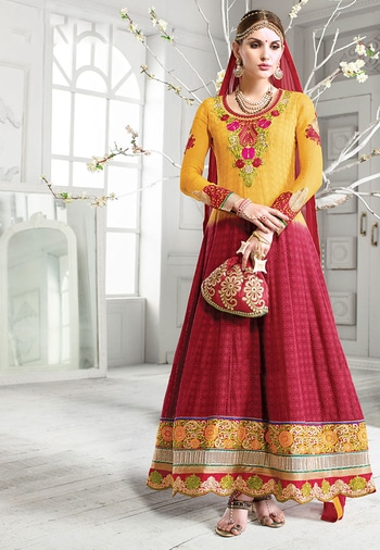Yellow & Pink Color Georgette Designer Salwar Kameez. Buy Now at https://goo.gl/prn97N  https://www.folkfashions.com/salwar-kameez-dress-material/party-wear-salwar-kameez-online.html  #followforfollow #outfit #styling #model #streetstyle #cool #beauty #roposo #indian #followme #roposolove #styles #fashion #blogger #trendy #indianblogger #summer #love #yellow #yellowdress #yellowsalwarkameez #pink #pinkdress #pinksalwarkameez #pinksalwarsuit #georgette-summer-collection #georgettesuit #georgette_salwar_kameez #designer #salwar #salwarkameez #salwarsuit #salwar-kameez #salwarkameezsale #salwarsuitonline #salwarkameezonlineshopping #buyonline #buyapparel #buynow #shop #shoppingonline #partyoutfit #partywearonline #partywearanarkalis #partywearsuits #partywearshopping #anarkalisuit #anarkalidressesonlineshopping #anarkalidresses #anarkalisalwars