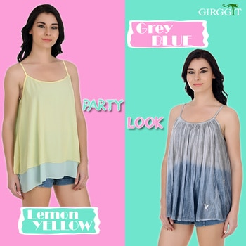#Weekend starts with a party, here is our party look suggestion which one you go with? #TrendWithGirggit #FashionBeyond #Summers #Fashion #LookFamous #PartyTops #SummerDresses #Dresses #PartyDresses #FashionDiaries #FreshFashion #LatestFashion #WeekendStyle #WomensWear #SummerCollection #outfit #styling #streetstyle #roposo #styles #fashion #trendy #summer #love