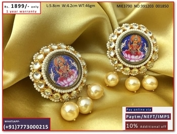 Get the products for #bestprices with #greatdeals  For prices and other enquiries please what's app with image on +917773000215    FOLLOW OUR PAGE LINK     https://www.facebook.com/CULTURENYOUFASHION     follow us on Instagram    https://www.instagram.com/culturenyou  #earringsoftheday #fashion #instaearrings #cute #love #earringaddict #earringswag #earrings #piercing #earringlove #accessories #jewelry #gorgeous #instatag #earringstagram #stylish #girl #beautiful #piercings #pierced #instagramanet #earring #fashionista #earrings #desifashion #indianbride #indian #gold #bollywood #indianfashion #kundan #jewels #ethnicwear #pakifashion #asianwedding #designer #jewelery #bridaljewelery #hijabi #exclusive #asianadornment #bridalwear #ishyhaq #jewellry #jewellery #fashion #wedding #beautiful #traditional #punjabibride #indianjewellery #sikhbride #desi #quilling #punjabi #allthingsbridal #earrings #desifashion #indianbride #indian #gold #bollywood #indianfashion #kundan #jewels #ethnicwear #pakifashion #asianwedding #designer #jewelery #bridaljewelery #hijabi #exclusive #asianadornment #bridalwear #ishyhaq #jewellry #jewellery #fashion #wedding #beautiful #traditional #punjabibride #indianjewellery #sikhbride #desi #india #singapore