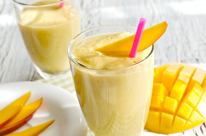 How To Make Mango Lassi | Mango Yogurt Smoothie Click here to watch video: http://bit.ly/2qq2lXX  #summers #cool #tipstofollow #hot #love #mango #mangolove #missgudi
