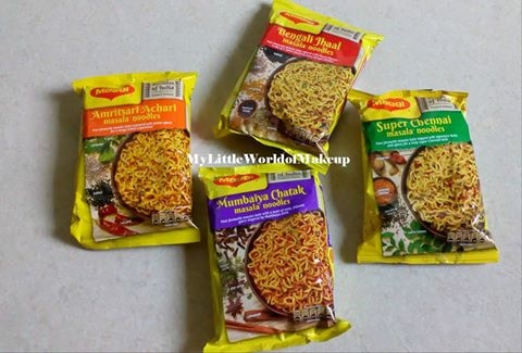 NEW LAUNCH !! Maggi recently launched Masalas of India Noodles which come in 4 flavours. They are vegetarian and limited edition too. Check out my blog post to know more... #newlaunch #maggi #merimaggi #masalasofindia #limitededition #amritsariachari #bengalijhaal #mumbaiyachatak #superchennai #noodles #blogger #mumbai #chennai #bengal #amritsar #foodlover #foodblogger #foodporn  https://goo.gl/JqWLgy