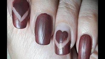 Brown Matte Heart Nail Art  | ARS Arts #naillover #nails #nailartdesigns #nailartwow #nail-addict #nailaddict #nailsoftheday #nails2inspire #nailswithrhinestones #nailartaddicts #nailartist #nailartworld #nailartblogger #nailartblog #nailartideas #nailartindia #nailart2017 #nailartfun #nailartpics #nailartforbeginners #nailartfashion #roposonailart #roposonails #nailroposo #nailpolish #nailpaint #nailartpics #easynails #easynailart #simplenailart #beautifulnails