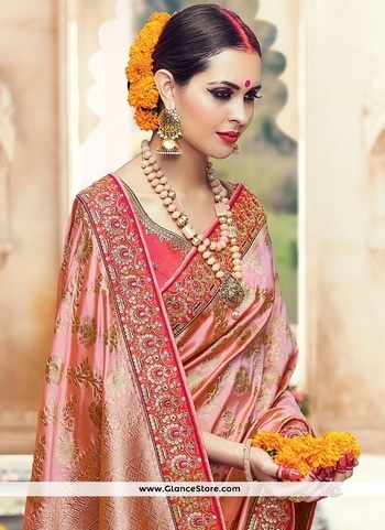 Demure Peach Embroidered Work Art Silk Designer Traditional Saree  Buy @ http://www.glancestore.in/sarees/demure-peach-embroidered-work-art-silk-designer-traditional-saree-30449 Product Code: 30449 Appear ethnic with this affluent peach art silk designer traditional saree. This dress is showing some really mesmerizing and imaginative patterns embroidered with embroidered, patch border and zari work. Comes with matching blouse.   Call Or Whatsapp us on +91 9904488333  #glancestore #chaniyacholi #ghagracholi #indianwear #indianwedding #fashion #fashions #trends #cultures #india #womenwear #weddingwear #ethnics #clothes #clothing #indian #beautiful #lehengasaree #lehenga #indiansaree #bridalwear #bridal #indiandesigner #style #stylish #bollywood #kollywood #celebrity #outfits  For More Product Visit @ www.glancestore.com