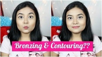 What Is The Difference Between Bronzing & Contouring? (How To Do It) #bronzer #contour #howidoit #makeuphacks #youtubeindia #beautyblogger  #makeup