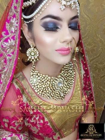 A #Beautiful Bride #Adorning Jewels By Gehna by Sisters 😍 We Have All Types Of #Bridal Jewellery For Purchase & Rent Purpose | We Keep Artificial & Fusion Jewellery As Well <3 So Tag #Someone Who Is Getting Married Soon & We Will Get Their Bridal Jewels #Requirement Sorted 👈 Call / #Whatsapp us on : 9999839166 Jewels By : Gehna by Sisters Makeup By : Sakshi & Urvashi Beauty Studio #GehnaBySisters #BridalJewellery #JewelleryIdeas #Bride #WeddingJewellery #Wedding #PaschimVihar #JewelleryOnRent