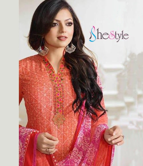 "FRENCH CREPE EMBROIDERED SALWAR SUIT  Category : Semi stitched Salwar Kameez Material  / French Crepe Salwar Kameez Dress Type : Long Straight Cut Salwar Kameez Suit Design Work : Embroidery Work , Lace Work Dress Style : Designer Embroidery Salwar Kameez Suit Sleeves : Full Sleeves #salwarkameez  #salwarsuit  #new-style   Salwar Kameez  Fabric Details :- Salwar Kameez Top Material : French Crape Heavy Embroidery 44 inch width Salwar Kameez Bottom Material : Shantoon  - 2.0 Mtrs Salwar Kameez Dupatta Material : Georgette- 2.25 Mtrs  Free Shipping in India  Get Latest Updates from us.... Please save this number (+91 755996933) with name shestyle.in and send a WhatsApp message ""SUB"" to given number"