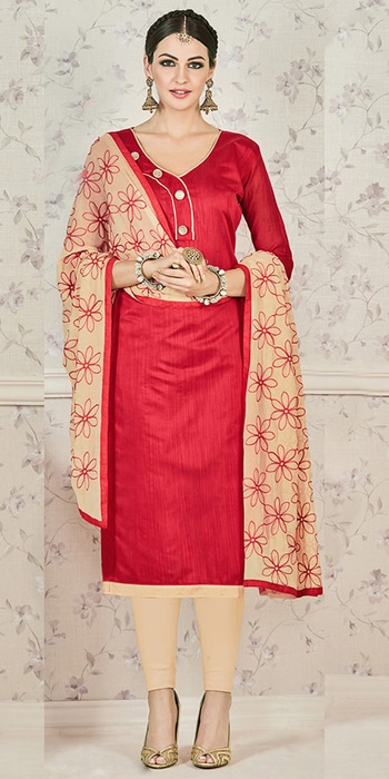 Lavish Red And Cream Cotton Straight Suit.   Whatsapp 8097 909 000    Click here to buy and get Ramzan Offers!   https://www.nallucollection.com/salwar-kameez/straight-cut-suits.html?utm_source=Social&utm_medium=Roposo&utm_campaign=Salwar%20Suit     Follow us on Facebook https://www.facebook.com/nallucollection/    Twitter: https://twitter.com/NalluCollection   Instagram:  https://www.instagram.com/nallu_collection/  Pinterest: https://in.pinterest.com/nallucollect/pins/     #Nallucollection #ethnic #womenfashion #dress #indianblogger #followforfollow #fashionistas #style #summer #loveyourself #beauty #fashionstyle #shotout #women #fashionable #fashionfreak #roposoblogger #followme  #outfitoftheday  #outfitoftheday #casualvibes  #beauty #cool #Summer-style #Love