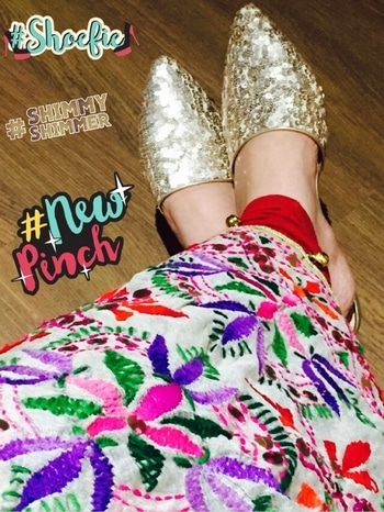 #shoelove #shoestory #shoesday #latestaddition #shoecollection #shoeholic #rosegold #shimmerandshine #glamandglow #shimmyshimmer #newpinch #shoefie