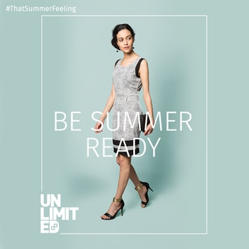 No need to play the elimination game with your wardrobe before you get ready for that evening party! Shop the best of evening dresses with us!  Buy this dress for Rs. 1299/- right here, bit.ly/shopwithunlimited #thatsummerfeeling #summerspring #SS17 #summerishere