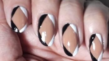 Diamond Monocromr Nail art | ARS Arts #nails #nailartwow #nail-addict #nail-designs #nailpolish #nails2inspire #nailsoftheday #nailswithrhinestones #nailartdesigns #nailartblogger #nailartaddicts #easynailart #easynaildesign #easynails #simplenailart #beautifulnails #nailart2017 #nailartpics #nailartfun #nailartforbeginners #nailartfashion #roposonails #roposonailart #nailroposo #nailpolish #nailpaint #deepikapadukonestyle #deepikapadukone