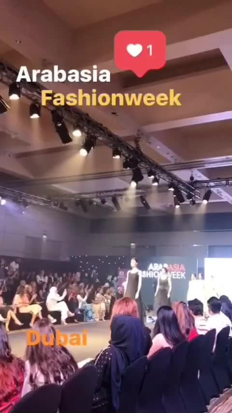 Arab Asia fashion week                                  #arabasia  #dubai #arabfashionweek #karishmakapoor