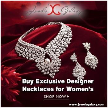 Buy Exclusive Designer Necklace for women online at Jewels Galaxy. Choose from the latest collection of jewelry online & enjoy exciting offers.   Shop Now : https://goo.gl/bwseVa Explore More @ https://goo.gl/xYlzZU   #sydney #australia #america #canada#california #kuwait #dubai #london#england #italy #sikhwedding #bride#fashion #happy #jewellery #kundan#lehnga #love#newyork #NYC #punjabi#toronto #traditional