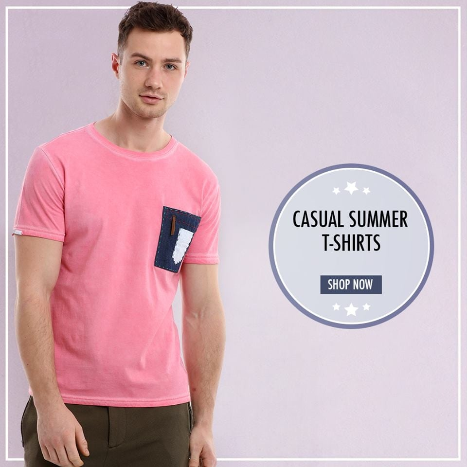 Add quirkiness to your wardrobe with this patchwork summer tee.  Shop this versatile style @ https://goo.gl/W6Axip                           https://goo.gl/04I36w  #zobello #fashion #shopping #summerlook #newarrivals