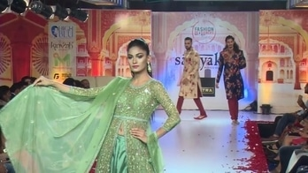 Bridal fashion Show by Samyakk at Fashion Designer Week, Bangalore  #fashionshow #lehengas #indian #roposolove #ootd #ethnicwear #sherwani #indowestern #anarkalis #gowns