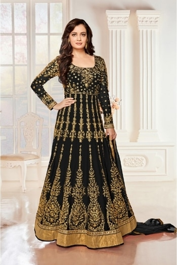 Party Wear Black Net Anarkali Suit - Aashirvad7009-D @ Rs.2450/- Only  Buy Now : https://goo.gl/ZKaPsE   Order On Whatsapp : 09321219977  Flat 10% OFF on First Order ( Use Coupon - IAMNEW10 ) Get Free Home Delivery + COD + Easy EMI + Easy Refund / Replacement Policy.!!  *100 % Customer Satisfaction * Stitching Service Available * Hurry Up To Grab Exciting Offer On storeadda !!!! * World Wide Shipping   #anarkalisuit #embroidered #anarkalidress #salwarsuit #longanarkali #storeadda #sale #salealert #womensonlineshopping #onlineshopping #georgette #ethnic-wear #anarkalisonline #fashionblogger #blogstyle #blogging #fashionblog #fashionbloggerindia #indianstyle #salwarsuit #dressmaterial #salwarkameez #ethnicwear   #anarkalidress #palazzostyle #palazzo #palazopants #capedress #capestyle #diamirzasalwarkameez  #diamirza #floorlengthanarkali