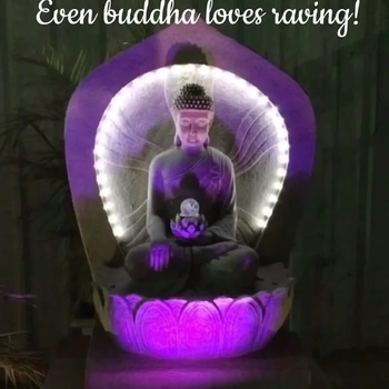 Haha Buddha also knows how to have fun! We need to learn a thing or two from him. Live life to the fullest 😉 #buddha #rave #fun #partytime #beautyblogger #bblogger #mumbai #delhi #london #indianblogger #roposobeauty #timeout #chillout