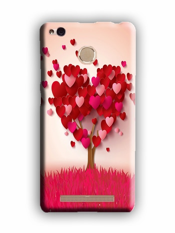 Casemantra Back Cover For Mobile Cover Red Heart <3