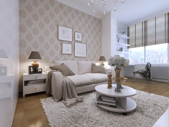#ProTip Home: Experiment With Wallpaper  Give your house interior a new look by skipping paint and going for wallpaper. There are plenty of options in designs and colours. Since wallpapers these days are made from renewable materials and natural fibres, they are eco friendly, too!  Love the design? Why not hire a professional interior designer to give your house a new look. Click on the link in bio to get the best interior designers from UrbanClap!  #MakeLifeSimple #interiordesign #interior #designs #designlovers #decor #instahome #homedecor #designporn #simple #sophisticated #instapicture #instalove #homesweethome #interiordesignideas #services #classy