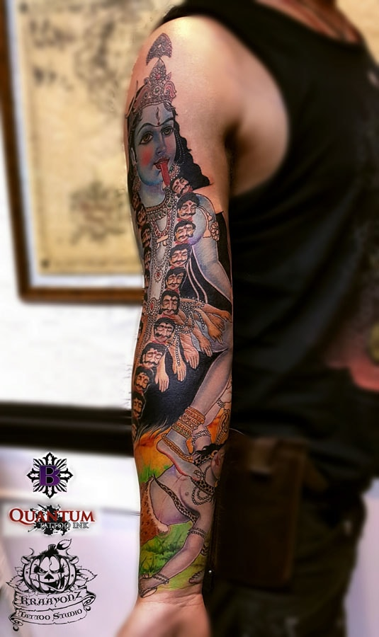 #Tattoo, #Artists, #Studio, #Parlour, #Goa, #India, @ www.kraayonztattoostudios.com/tattoo-studio-goa.php