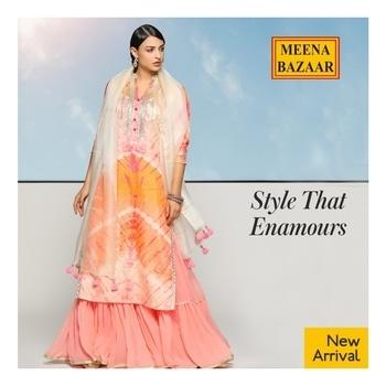 Tie & Dye Sharara set from our new range of #Prakriti. Click here to shop now: http://www.meenabazaar.com/designer-wear/prakriti.html 😀 #MeenaBazaar #casualwear #indianwear #ethnicwear #ethnicday #occasionwear #designerwear #ootd #delhi #FashionDairies #2017fashiontrends #StreetStyle #Stylish #lookbook #fashionblogger #fashionweek #fashionista #indianfashionblogger #couturefashionweek #couture #hautecouture #style #inspiration #fashioninspiration