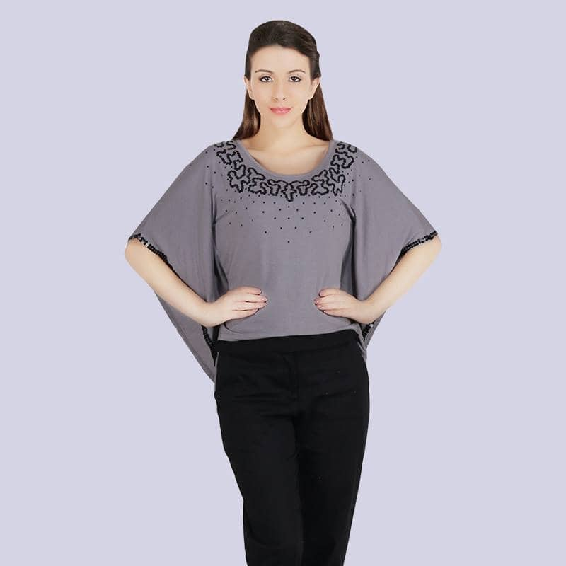 #grey #greylove #embellished #women-fashion #womenapparel #loveyourself #kaftan #look #beautiful #different-is-beautiful #sequintop #missgudi