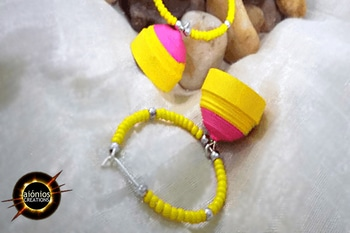 Hot pink and yellow Quilled Jhumkas, that's a perfect amalgamation. Bright yellow is the flavor of the month.  Hence, at Aionios Creations we work hard to bring our queen customer the best and most affordable jewellery. So order them now ! FREE CASH ON DELIVERY #jhumkalove #prettyinpink #beautifulmoments #glamlook #trendyness #rosopofashion #shopping#shoppingonline #ropostyle #yellowlove #indian#indianlove#glamrous#summer#newfashion#shopnow