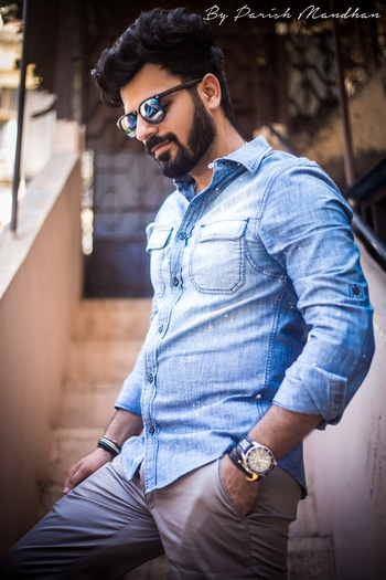 Smile a little!  Chinos and Denims with @house_of_class ♠️ . part #3 Pairing this denim shirt from @zara with steel grey chinos and my all time favourite @adidasneo sneakers ⚡️   📸- @parishmandhan . .  #HouseofClass #denim #ootd . . . . . . . . . . . . #bloggersofIndia #OOTD #mumbaifashionblogger #bloggerlife #bloggerstyle #bloggerdiaries #blogpost #Black #aviators #bloggingisfun #bloggerwear #beardlife #shootdiaries #mensfashion #menstyle #mensstyle #menfashion #ootdmen #beard #HouseofClass #Mumbai #Basics #wegroom #sssmagazine #mymagicpinmumbai #roposo #menonroposo