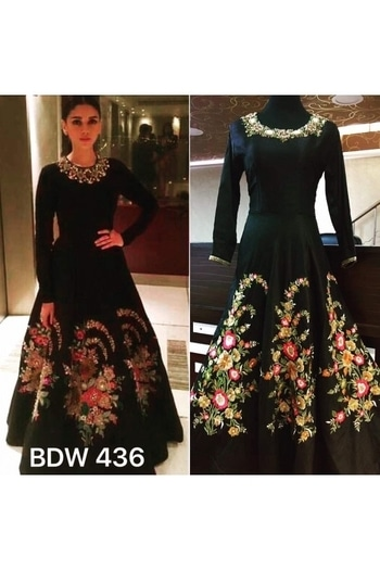 Bollywood Inspired - Aditi Rao In Designer Black Silk Gown - BSW 436 @ Rs . 4410 /- Only  Buy Now : https://goo.gl/AVb8fi  Order On Whatsapp : 09321219977  Flat 10% OFF on First Order ( Use Coupon - IAMNEW10 ) Get Free Home Delivery + COD + Easy EMI + Easy Refund / Replacement Policy.!!  *100 % Customer Satisfaction * Stitching Service Available * Hurry Up To Grab Exciting Offer On storeadda !!!! * World Wide Shipping   #anarkalisuit #embroidered #anarkalidress #salwarsuit #storeadda #sale #salealert #womensonlineshopping #onlineshopping #gown #ethnic-wear #gowndress #blogstyle #blogging #anarkaligown #semistitched #indianstyle  #diamirza #bollywooddtylesuit #bollywoodreplicasuits #bollywooddresses #jenniferwinget #jenniferwingetdress  #bollywoodgowns #bollywoodstylecollection #black #silk #multiwork #partyweargownsonline #feativalwear #designergown #weddingwearonline #gown #ropostyles #youtuber #fancygown #summercollection #women-fashion #womensstyle #longgown #maxi-dress #onepiecestyle #onepiecedress #onepiece