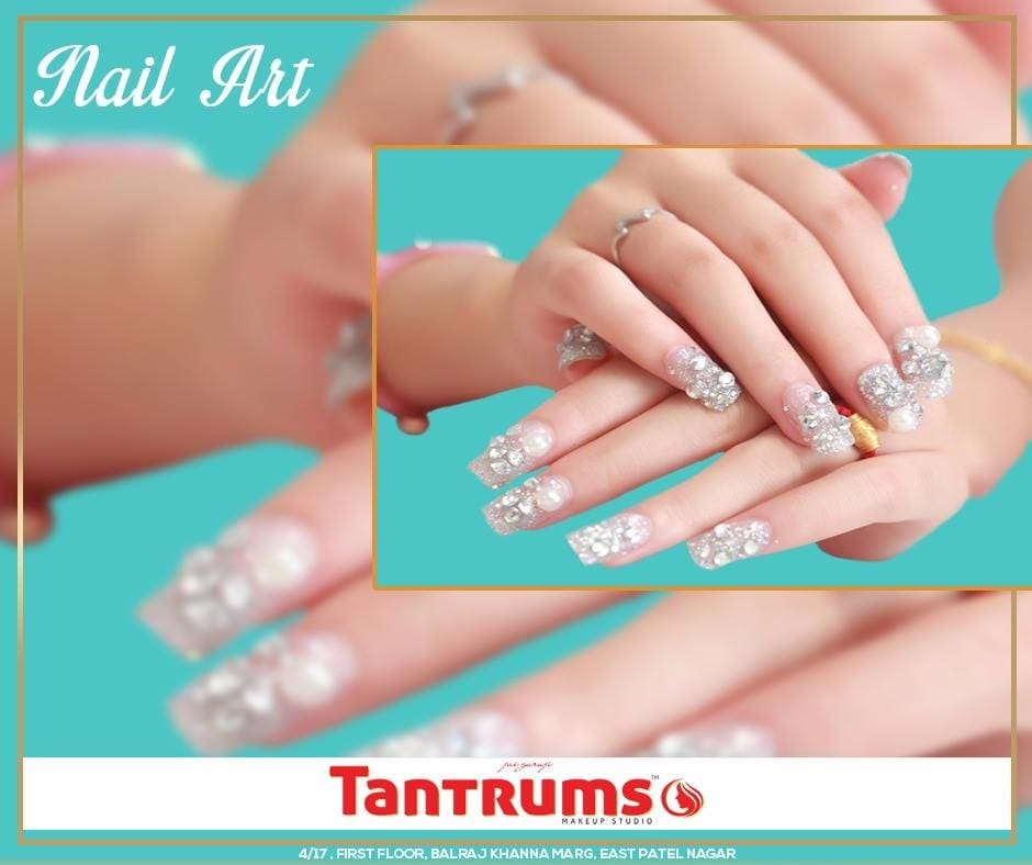 Keep #Calm & Get Your #Nails Done Today At #Tantrums 😊 To #Know More About us Dial : 011 - 65003073 / 09871183073 #TantrumsStudio #TantrumsMakeupStudio #NailArt #NailBar #NailSpa #GorgeousNails #NailDesigns #ILoveNails #Salon