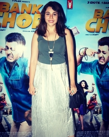For the special screening of #Bankchor