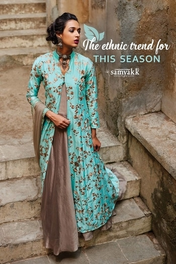 Beat the gloomy weather with these colourful hues this winter.  Read the link to know more: https://blog.samyakk.com/whats-the-best-ethnic-salwar-trend-for-this-winter-2/amp/  #samyakk #trend-alert #winterdiaries #salwar  #trendy #slayinstyle