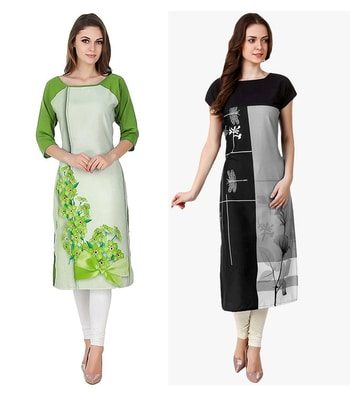 Festival Wear Readymade Kurti Combo Pack Of 2 - 50330B-50329C @ Rs . 1160 /- Only  Buy Now : https://goo.gl/Lw3gJG  Available Size : S, M, L, XL   Order On Whatsapp : 09321219977  Flat 10% OFF on First Order ( Use Coupon - IAMNEW10 ) Get Free Home Delivery + COD + Easy EMI + Easy Refund / Replacement Policy.!! *100 % Customer Satisfaction * Stitching Service Available * Hurry Up To Grab Exciting Offer On storeadda !!!! * Worldwide Shipping  #dressmaterial #crepe #salwarkameez #womensonlineshopping #sale #storeadda #fashionblogger #blogstyle #blogs #blogging #punjabisuit #salwarkameez #blog #wedding #Weddingsuits #Palazzosuits #fashionblogs #patialasuits #patiyala-suit #karishmakapoor #roposostyle #pant_suits #kurti #multi-colour #crepe #digitalprinted #readymadekurti  #officewear #ethnic-wear #printed #kurtistyles #kurtiset  #officewear #ethnicwearonline #kurtionlineshopping  #combo #kurti #packof2 #kurti #kurtionlineshopping #roposostyle #roposokurties #womenkurtisonline