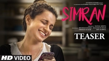 Offical Movie Teaser - Simran | Kangana Ranaut |  Hansal Mehta | T-Series #roposoblogger @lsselectronics  #tattoos