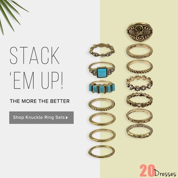 Stack Em up for an of-the-moment look! #20d #20dresses #online #onlineshopping #ecommerce #accessories #accessorize #rings #knucklerings #midirings #trending #stylish #postoftheday #picoftheday #pickoftheday