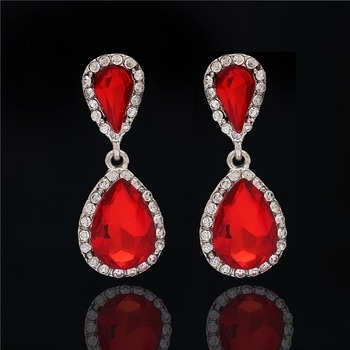Red Earrings♥♥♥♥♥♥  #Red #Crystal Waterdrop #Women #Earring #Fashioncrab #Artificial #Jewelry #Girlstuff #Wedding #Love earrings #jewellery #jewelrygram #jewelryaddict #ootd #fashiondiaries #instastyle #fashionpost #instafashion #beautiful #lookbook #fashiongram #style #lookoftheday #photooftheday #fashionista #picoftheday #follow #cute #fashioncrab Shop: https://www.fashioncrab.com/product/rhinestone-red-crystal-waterdrop-women-earring/?utm_source=Roposo&utm_medium=ShopNow