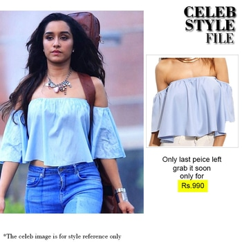 Want the shraddha kapoor look? Buy our blue off the shoulder half sleeve crop top now at flat 30% off. Use code-rush30 Original Price- 990 After discount- 693 Sizes available: L. Offer limited till stock lasts. To shop now hit link in bio #madrushfashion#sale#madsale#fashionblogger#lace#blue#fashion#flat30#actor#actorstyle#shopping#dress#trends#tendy#bedressy#befashionable#black#summer#summerstyle#cool#instalove#love#instagood#instadaily#like4like#follow4follow#buy#buynow