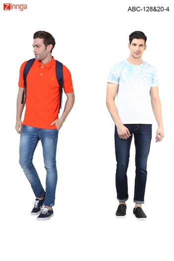 COMBO OF 2 FLEXIBLE JEANS PACK OFF 2 DENIM COMBO  Rs. 1,399.00   #Jeans #fashion #new #nicelook #newarrival #zinngafashion  URL: https://goo.gl/4ncJjx