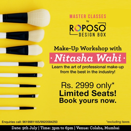 Always wanted to learn that smokey eye look?   We bring to you all that you wanted to master, in one action packed make-up workshop by @nitashamakeup   Sign Up Now! Very limited seats.  #mumbai #event #makeup #workshop #masterclass