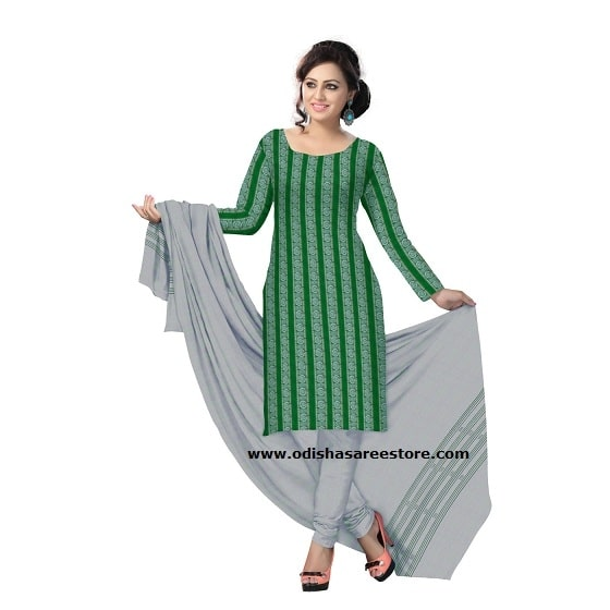 Beautiful collection of hand woven #salwar suit materials available online. Buy this beauty at: http://bit.ly/2sJHNut