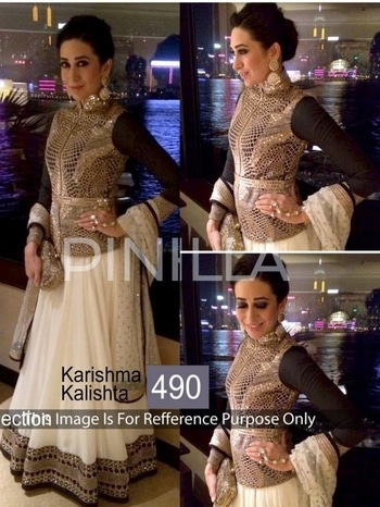 KARISHMA KAPOOR DESIGNER CELEBRITY WEAR LEHENGA CHOLI CATALOG WHOLESALE ONLINE SELLING View and Order :  https://goo.gl/DJp95t Fabric details : Lehenga: Georgette Bemberg, Blouse: Velvet/ Georgette, Blouse: Net Full Catalog Rate: 16200 	 FOR ORDER & INQUIRY:  Email : info@bebofashions.com Call / Whatsapp : +91 9408469226  Visit www.bebofashions.com for more collection  Thanks & Regards, Bebo Fashions  BEBO FASHIONS #EXPORTER #WHOLESALER #SUPPLYOFDESIGNERSUITS #PAKISTANISUITS #ANARKALISUITS #BANARSISAREE #PARTYWEARSAREE #PATIYALASUITS #BOLLYWOODSTYLESUITS #STRAIGHTSUITS #PLAZOSUITS #WEDDINGLEHNGAS #BRIDALDRESSES #BESTWHOLESALERATES !!!!  WORLDWIDE #UK #USA #MALAYSIA #MAURITIUS #JORDAN