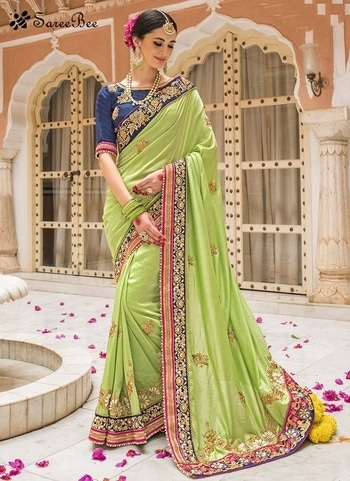 Honourable Green Designer Embroidery Saree 4196    For More Detail WhatsApp 7202080091 Or Visit www.SareeBee.com     #red #designer #instagram #kurti #fashionista #makeup #delhi #outfitoftheday #women-fashion #myfirststory #model #indian #saree #ramadanmubarak #trendy #ethnic #picoftheday #menonroposo #roposolove #cool #firstpost #soroposo #summer-style #streetstyle #summer #newdp #beauty #traveldiaries #styles #youtuber   #lehengas #summer-fashion #summerfashion #bollywood #fun #dress #streetstyle #ethnic #designer #styles #travel #indianblogger #roposo #selfie #trendy #lookoftheday #summer #ropo-love #styling #fashionista #cannesfilmfestival #roposogal #shopping #blogger #cool #Womenonroposo  #summer-fashion #summerfashion #raabtathemovie #rocknshop #food #bollywood #fun #dress #ootd #streetstyle #ethnic #designer #styles #travel #indianblogger #roposo #selfie #trendy #lookoftheday #summer #ropo-love #casualvibes #styling #fashionista #cannesfilmfestival #roposogal #shopping #blogger #cool #menonroposo #ethnicwear #ramdan #Eidmubarakh #Eid2017