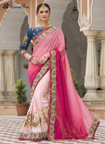 Precious Silk Pink Embroidered Work Designer Saree 4182  For More Information WhatsApp 7202080091 Or Visit www.SareeBee.com       #red #designer #instagram #kurti #fashionista #makeup #delhi #outfitoftheday #women-fashion #myfirststory #model #indian #saree #ramadanmubarak #trendy #ethnic #picoftheday #menonroposo #roposolove #cool #firstpost #soroposo #summer-style #streetstyle #summer #newdp #beauty #traveldiaries #styles #youtuber   #lehengas #summer-fashion #summerfashion #bollywood #fun #dress #streetstyle #ethnic #designer #styles #travel #indianblogger #roposo #selfie #trendy #lookoftheday #summer #ropo-love #styling #fashionista #cannesfilmfestival #roposogal #shopping #blogger #cool #Womenonroposo  #summer-fashion #summerfashion #raabtathemovie #rocknshop #food #bollywood #fun #dress #ootd #streetstyle #ethnic #designer #styles #travel #indianblogger #roposo #selfie #trendy #lookoftheday #summer #ropo-love #casualvibes #styling #fashionista #cannesfilmfestival #roposogal #shopping #blogger #cool #menonroposo #ethnicwear #ramdan #Eidmubarakh #eid2017