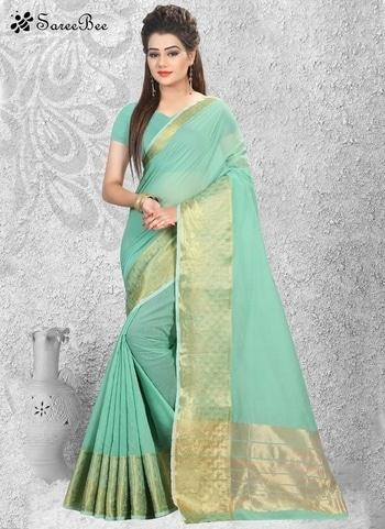 Winsome Green Cotton Silk Casual Sky Blue Color Saree 4067   For More Information WhatsApp 7202080091 Or Visit www.SareeBe.com   #red #designer #instagram #kurti #fashionista #makeup #delhi #outfitoftheday #women-fashion #myfirststory #model #indian #saree #ramadanmubarak #trendy #ethnic #picoftheday #menonroposo #roposolove #cool #firstpost #soroposo #summer-style #streetstyle #summer #newdp #beauty #traveldiaries #styles #youtuber   #lehengas #summer-fashion #summerfashion #bollywood #fun #dress #streetstyle #ethnic #designer #styles #travel #indianblogger #roposo #selfie #trendy #lookoftheday #summer #ropo-love #styling #fashionista #cannesfilmfestival #roposogal #shopping #blogger #cool #Womenonroposo  #summer-fashion #summerfashion #raabtathemovie #rocknshop #food #bollywood #fun #dress #ootd #streetstyle #ethnic #designer #styles #travel #indianblogger #roposo #selfie #trendy #lookoftheday #summer #ropo-love #casualvibes #styling #fashionista #cannesfilmfestival #roposogal #shopping #blogger #cool #menonroposo #ethnicwear #ramdan #Eidmubarakh #eid2017