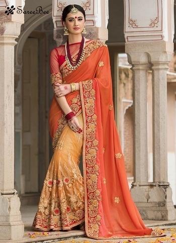 Winsome Silk Orange Designer   Lace Work Saree 4190   For More Information WhatsApp 7202080091 Or Visit www.SareeBe.com   #red #designer #instagram #kurti #fashionista #makeup #delhi #outfitoftheday #women-fashion #myfirststory #model #indian #saree #ramadanmubarak #trendy #ethnic #picoftheday #menonroposo #roposolove #cool #firstpost #soroposo #summer-style #streetstyle #summer #newdp #beauty #traveldiaries #styles #youtuber   #lehengas #summer-fashion #summerfashion #bollywood #fun #dress #streetstyle #ethnic #designer #styles #travel #indianblogger #roposo #selfie #trendy #lookoftheday #summer #ropo-love #styling #fashionista #cannesfilmfestival #roposogal #shopping #blogger #cool #Womenonroposo  #summer-fashion #summerfashion #raabtathemovie #rocknshop #food #bollywood #fun #dress #ootd #streetstyle #ethnic #designer #styles #travel #indianblogger #roposo #selfie #trendy #lookoftheday #summer #ropo-love #casualvibes #styling #fashionista #cannesfilmfestival #roposogal #shopping #blogger #cool #menonroposo #ethnicwear #ramdan #Eidmubarakh #eid2017