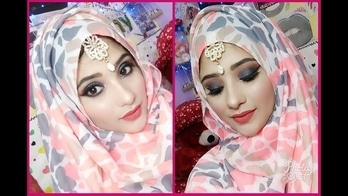 eid make-up tutorial for u girls 🤗 do check out my YouTube channel now...  #eidmakeup #eid #makeupforeid
